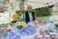 Petra Ludwig aus Crimmitschau hält dem Töpfermarkt seit 23 Jahren die Treue. Foto: Archiv Stadtverwaltung Crimmitschau