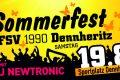 Sommerfest der Fußballer am 19. August