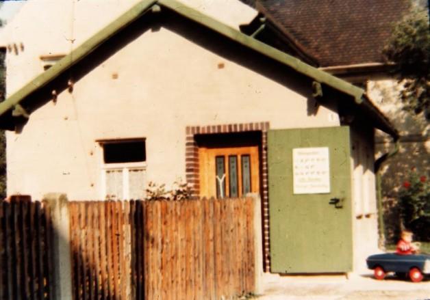 Die Poststelle in Dennheritz 1983