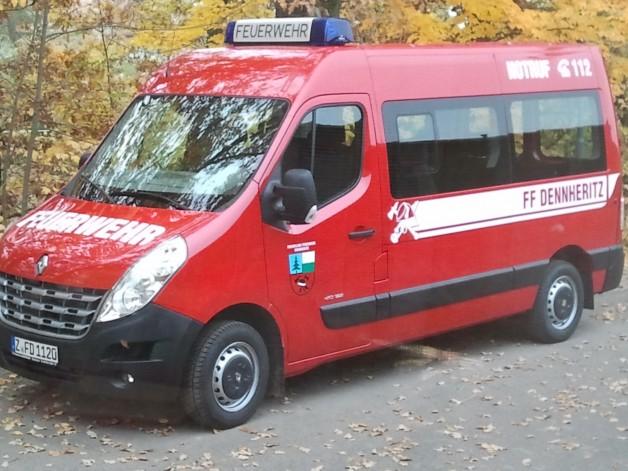 Neues Fahrzeug für FFW-Dennheritz