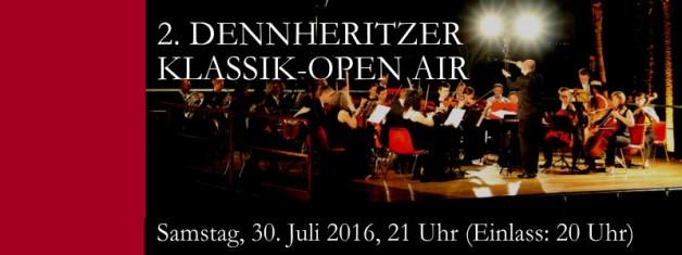 2. Dennheritzer Klassik Open-Air am 30.7.2016