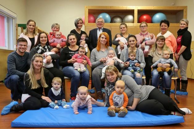 Willkommenspakete  für Neugeborene