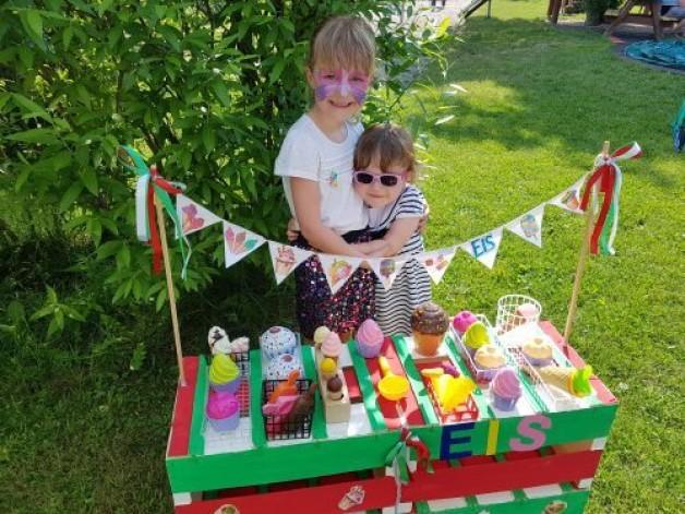 Eisparty zum Kinderfest