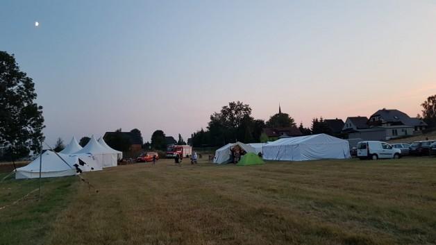 Zeltlager und 2 Jubiläen
