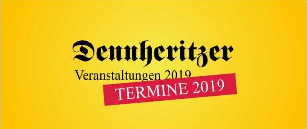 Veranstaltungen und Termine 2019