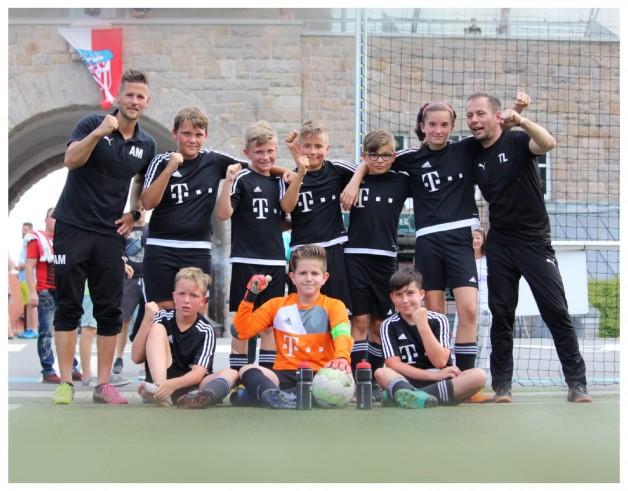 Fußballjunioren U11 werden Kreismeister 18/19