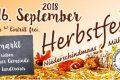 Herbstfest am 16. September