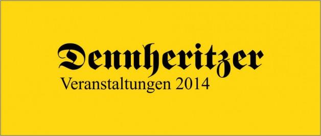 Veranstaltungsplan der Gemeinde 2014