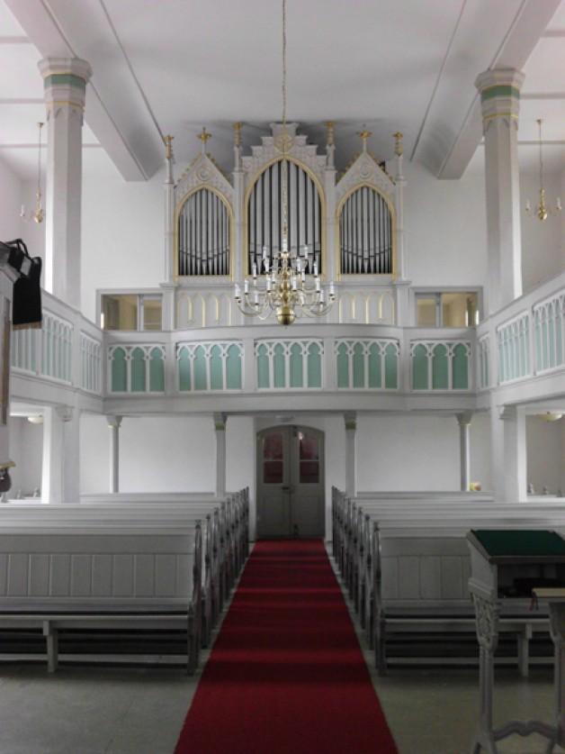 Dennheritzer Orgel erklingt neu – Konzert am 14.10.
