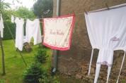 Unser Dorf zeigte Flagge und verwandelte sich in ein riesiges Freiluftmuseum