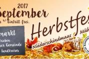 Herbstfest am Sonntag, 10. September