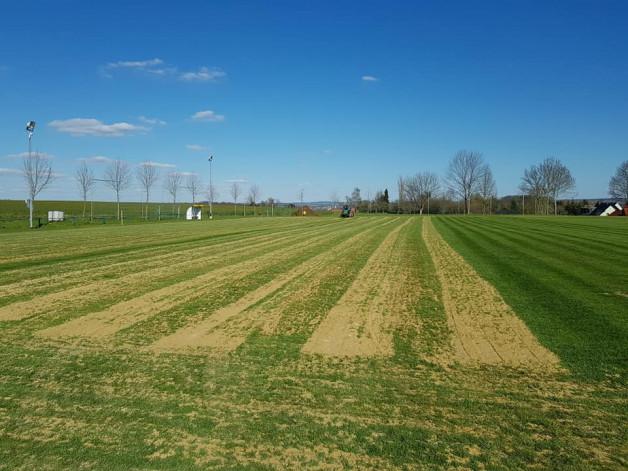 Erholungskur für unseren Rasen